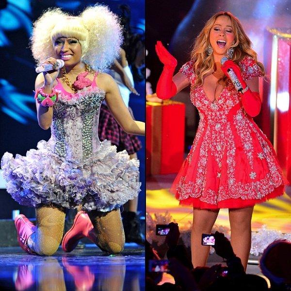 Nicki Minaj V. Mariah Carey