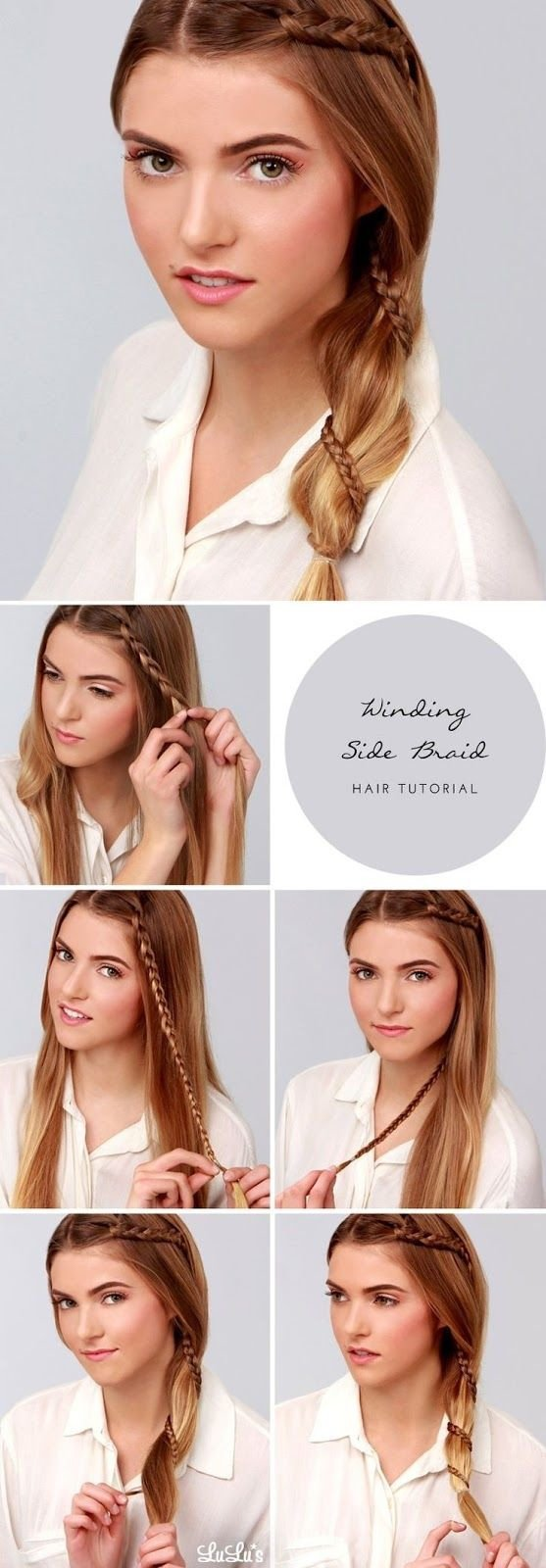 Winding Side Braid