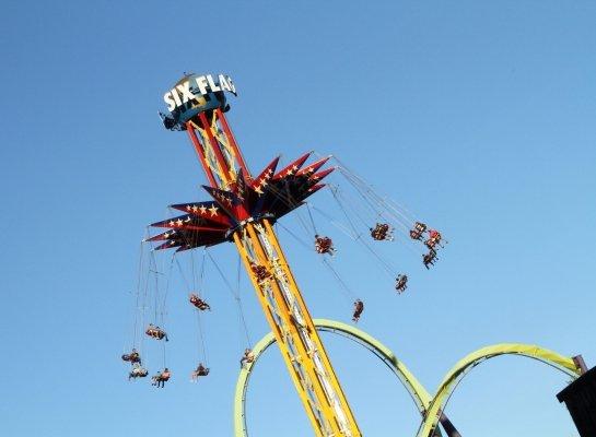 Skyscreamer, Six Flags New England Theme Park, Agawam, Massachusetts, USA