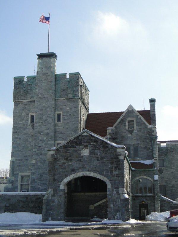 waterway, castle, building, fortification, sea,