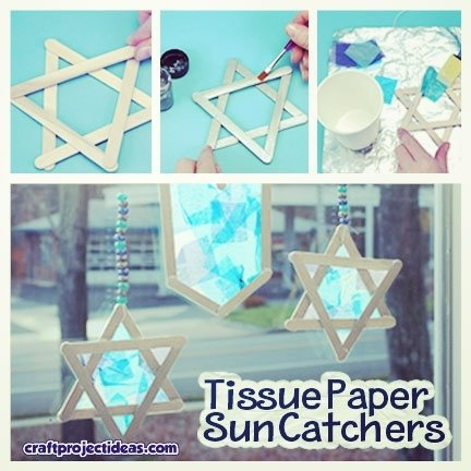 product,design,Tissue,Paper,Suncatchers,