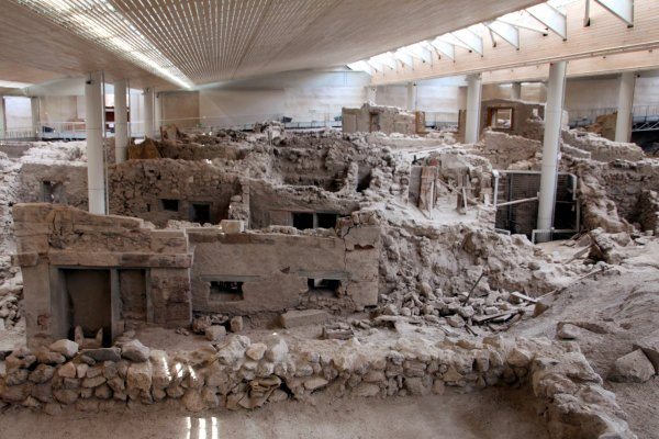 Stepping Back in Time at Akrotiri