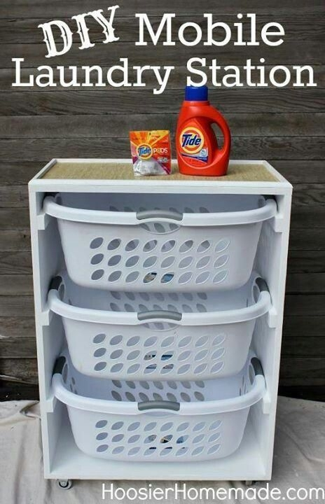 Space-Saving Laundry Room