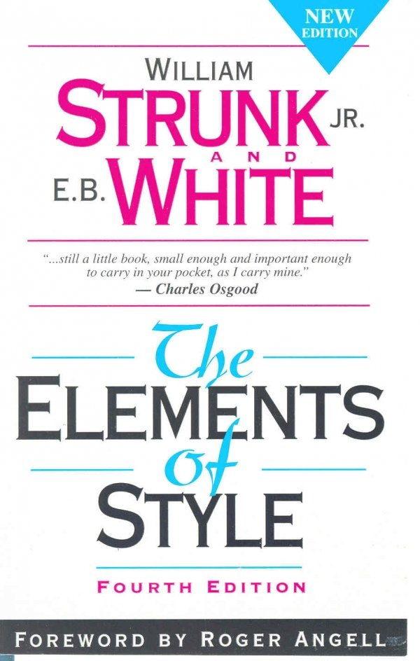 Elements of Style by Strunk & White