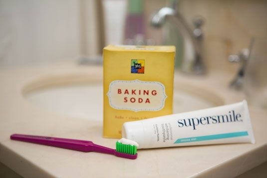 Baking Soda for Surface Stains