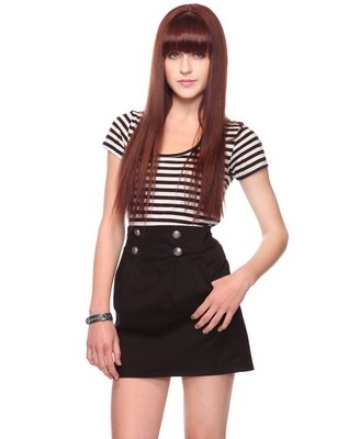 Sailor Contrast Dress