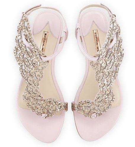 Angel Wing Sandals