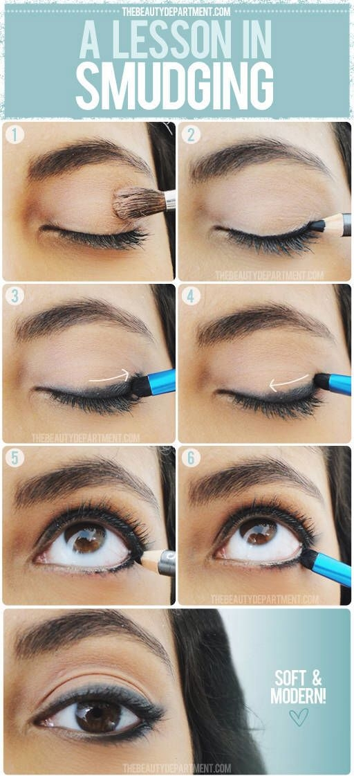 How to Properly Smudge Eyeliner