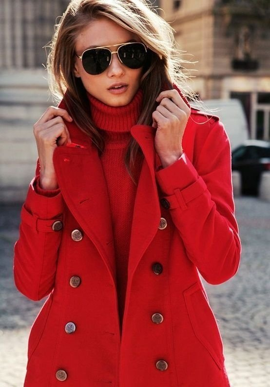 Red Pea Coat - 55 Reasons Red Rocks Our World ... → 🍹…