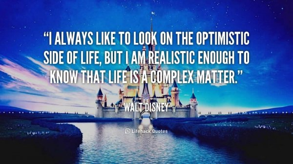 Quotes About Optimism Interesting Optimism  7 Quotes From Walt Disney To Inspire And Motivate You…