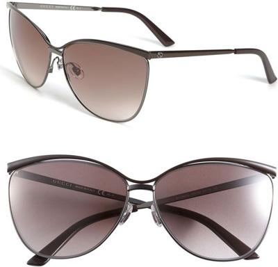 Metal Cat Eye Sunglasses  gucci metal cat s eye sunglasses 7 adorable cat eye glasses