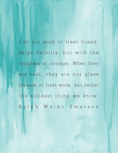 friendship ralph waldo emerson summary