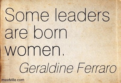 "women are great leaders ""women are great leaders because we are able to balance professional and personal leadership skills it's easier to approach a women leader with a personal request, or a sensitive question i care about my team and their well-being, which includes their performance at work and their work-life balance."
