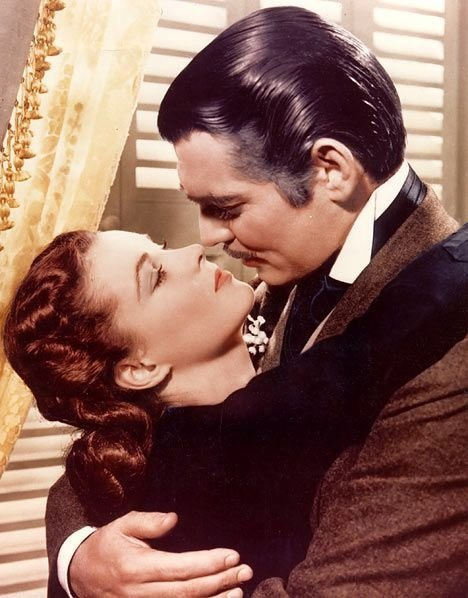 "Rhett and Scarlett, ""Gone with the Wind"""
