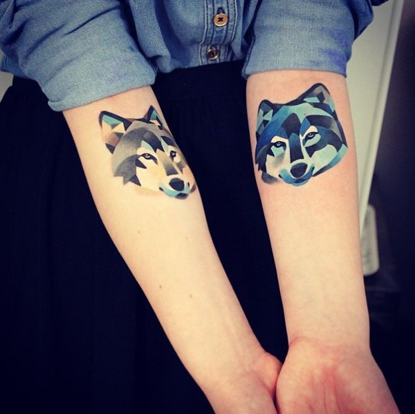 4. acuarela de tatuajes. Watercolor Tattoos