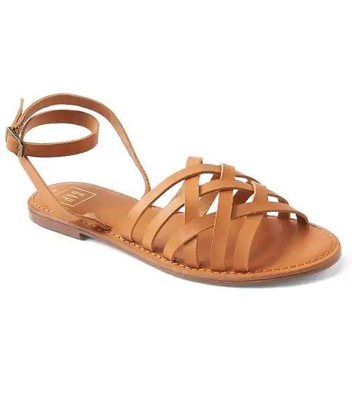 footwear, brown, shoe, product, flip flops,