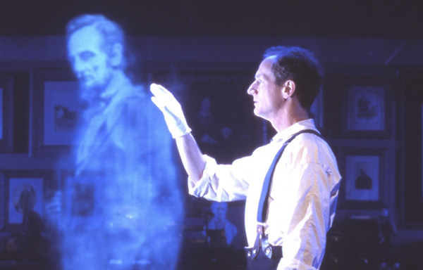 abraham lincoln ghost caught on tape. the ghost of abraham lincoln is said to have haunted white house right up until extensive remodeling during truman administration caught on tape