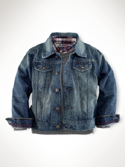 Classic Jean Jacket: Comfortable Designer Clothes for Kids...