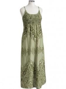 Old Navy Smocked Maxi Dress