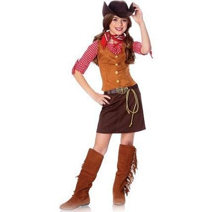 Ride Em' Cowgirl: Country Halloween Costumes for Kids...