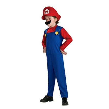 Super Mario Bros: Gamer Halloween Costumes for Kids...