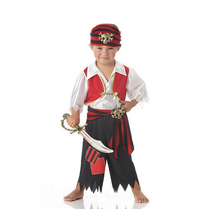 Ahoy Matey: Pirate Halloween Costumes for Kids...