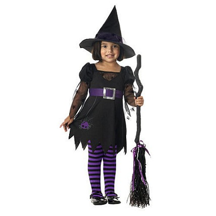 Cast a Spell: Witch Halloween Costumes for Kids...