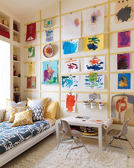 art gallery 7 creative kids 39 room ideas parenting