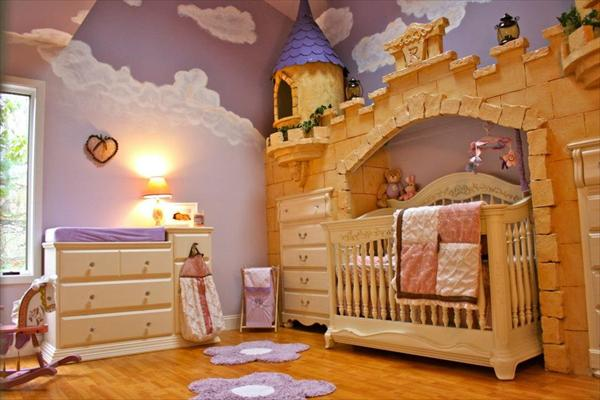 Lovely Of Course, My First Suggestion For Baby Girl Bedroom Ideas Is Princesses.