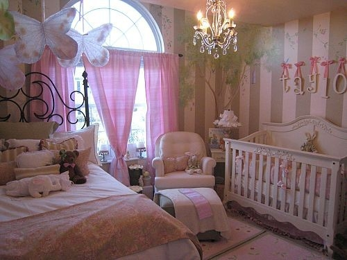 Fairies7 Super Cute Baby Girl Bedroom Ideas for Your Little