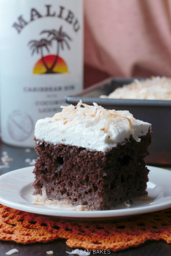 Coconut Malibu Rum Pound Cake