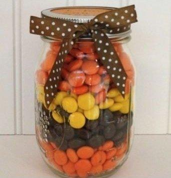 REESE'S Pieces Mason Jar