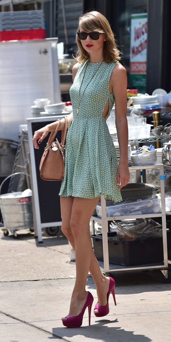Taylor Swift Leaves The Gym The Most Gorgeous New York