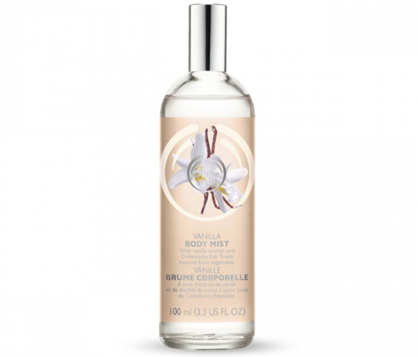 Vanilla Body Mist by the Body Shop