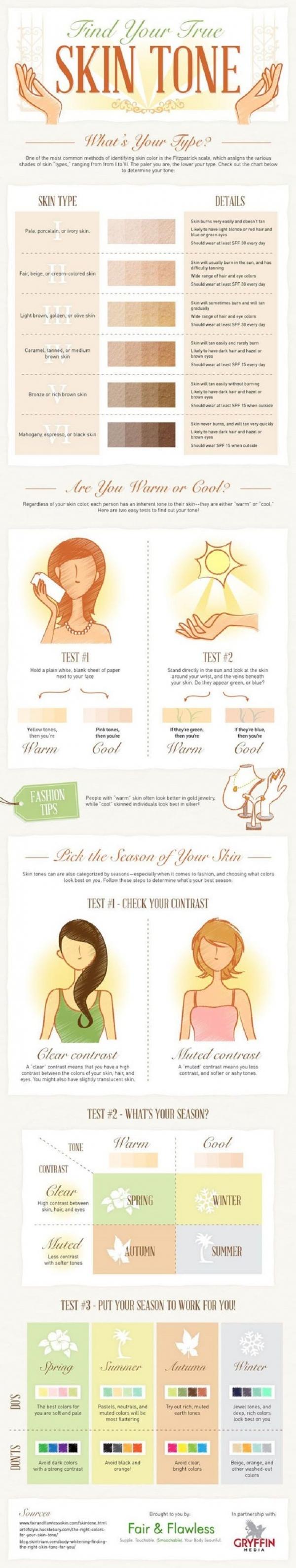 Find Your True Skin Tone