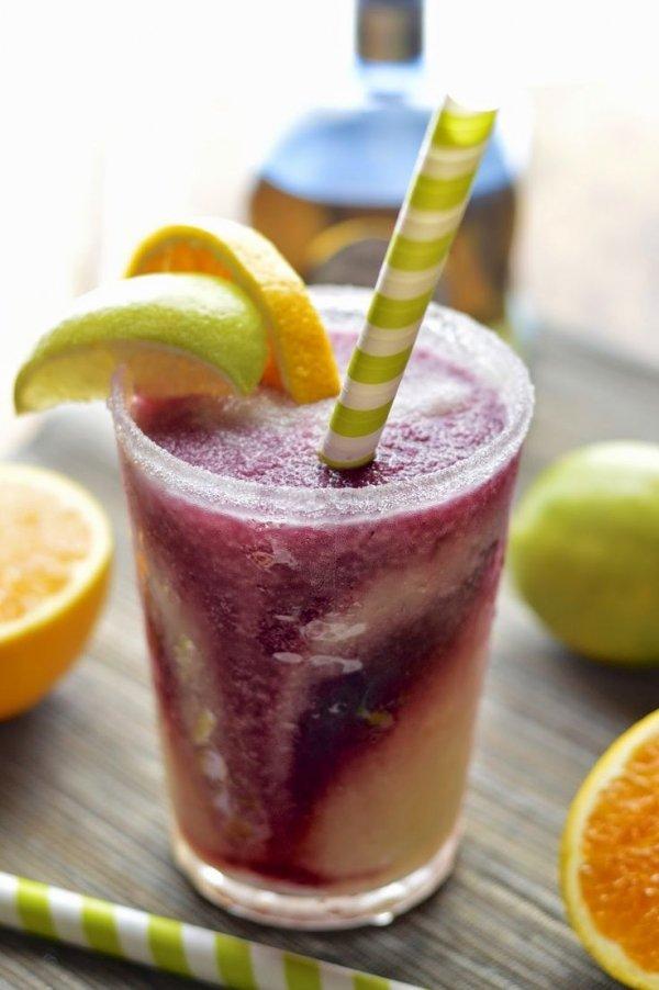 Frozen Lime Margaritas