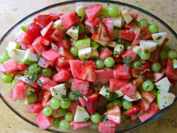 grape strawberry watermelon