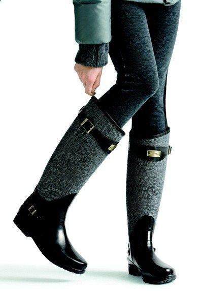 Black Hunter Boots
