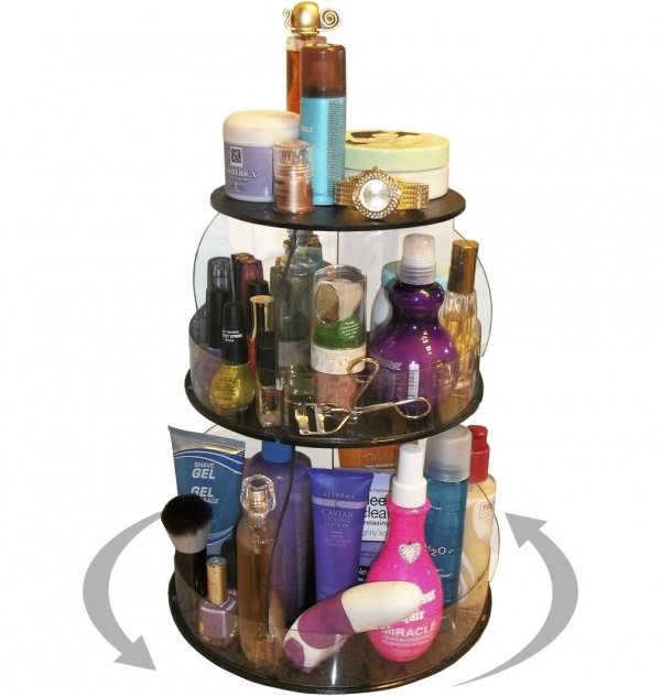 Rotating Makeup & Cosmetic Organizer