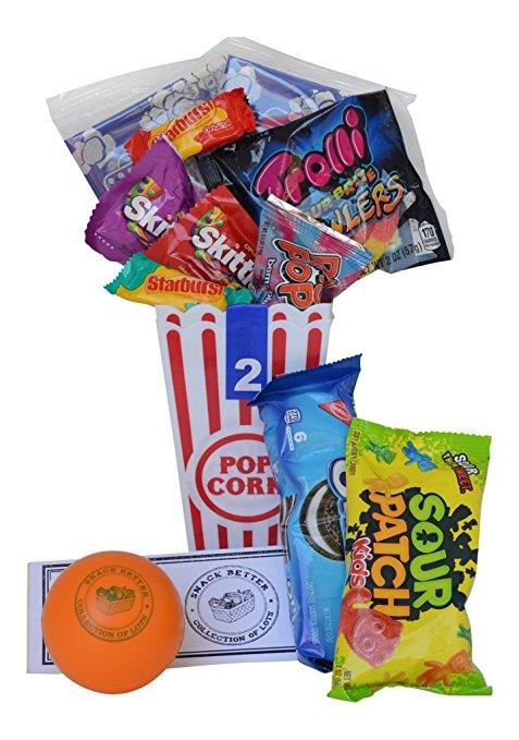 16 insanely easy easter basket ideas for men sour patch kidspopcornfoodgift basketproduct negle Images