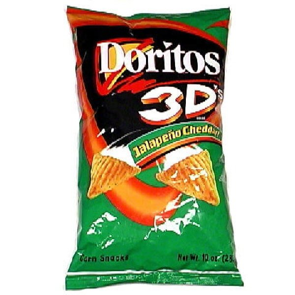 7 Foods from Your Childhood That You Probably Miss ... Food 3d Doritos