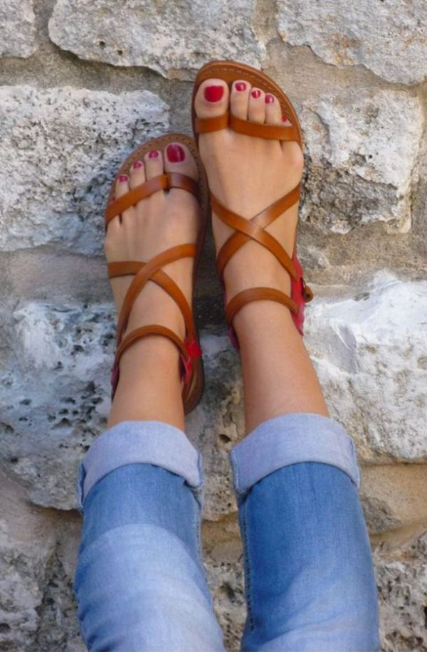 A Good Pair of Strappy Sandals