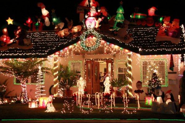 Best Christmas Lights In Los Angeles