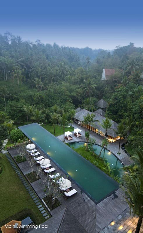 komaneka resorts ubud bali superbe h tel piscines. Black Bedroom Furniture Sets. Home Design Ideas