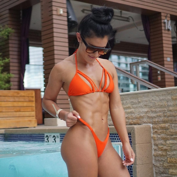 clothing,swimwear,muscle,black hair,abdomen,