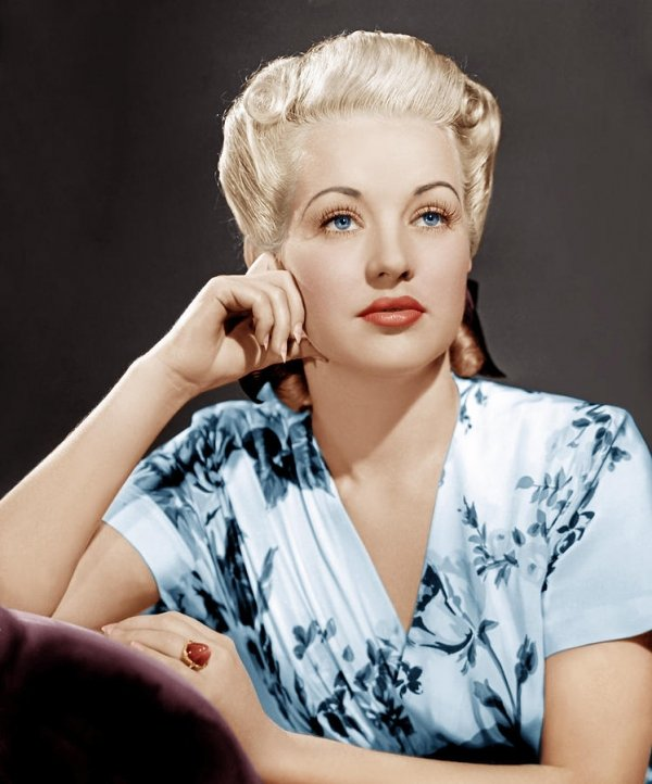 Betty Grable – Dec. 18, 1916 – July 2, 1973