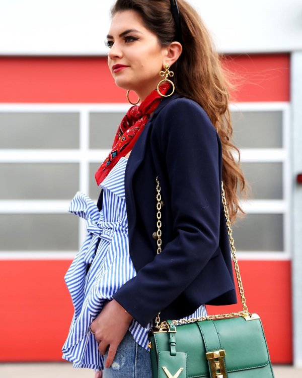 clothing, plaid, blouse, leather, pattern,