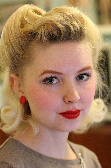 Fab '40s Hair - 33 Ravishing Retro Hairstyles ... Hair