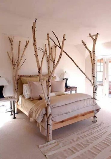 Make an Incredible Nature Inspired Bed