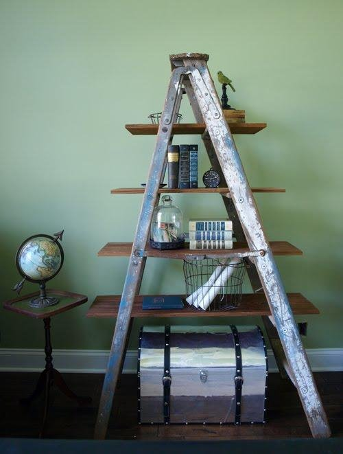 Display Them on an Old Step Ladder